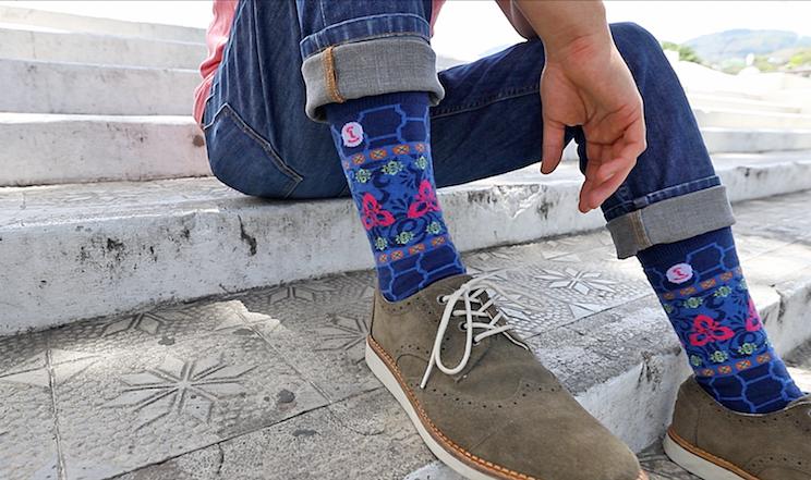 Cómo estar a la moda con tan solo unos calcetines