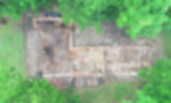 Inspección arqueológica con dron en Guatemala
