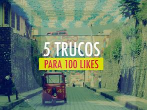 """5 Trucos para convertir una imagen en 100 """"likes"""""""