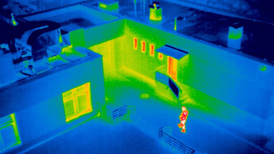 Detección Témica con Dron en Guatemala