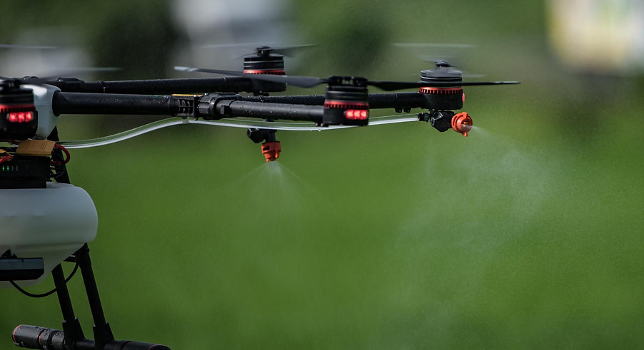 Fertilización y Fumigación con Dron en Guatemala