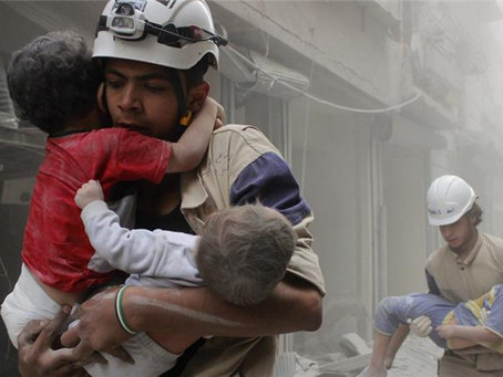 White helmets and the peace prize