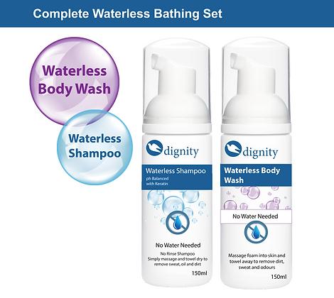Waterless Bathing Set