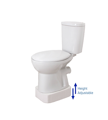 Height Adjustable Toilet Rising Plinth