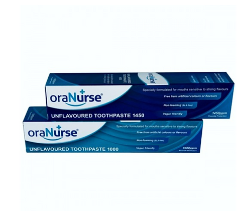 6 Pack oraNurse Unflavoured Toothpaste 50ml