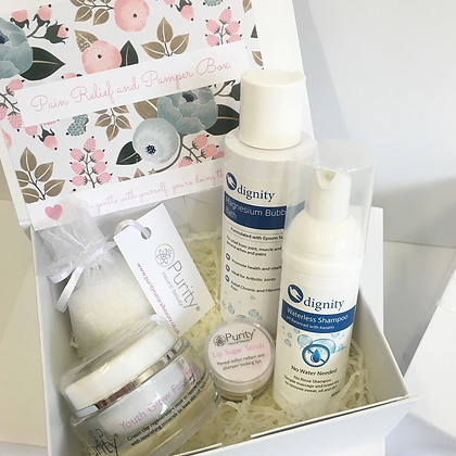 Pain Relief & Pamper Box