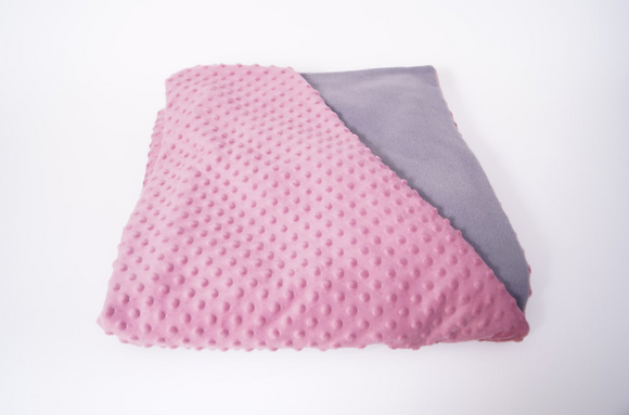 Weighted Blankets - Pink/Grey