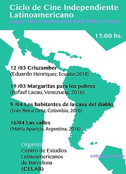 1. I Ciclo de Cine Independiente Latinoa