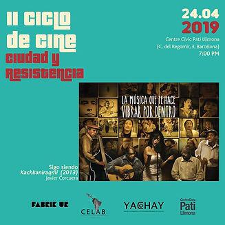 2. Ciclo de Cine Ciudad y Resistencia ab