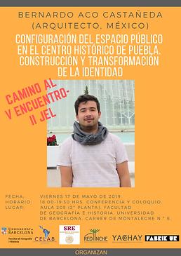 5. 17 mayo 2019, Bernardo Aco, Facultad