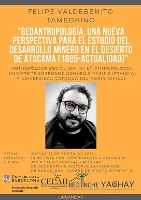 2. 31 enero 2019, Felipe Valdebenito, Fa