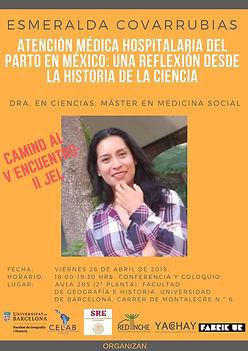 9. 26 abril 2019, Esmeralda Covarrubias,