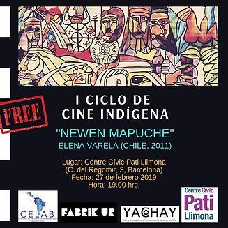 3. I Ciclo de Cine Indígena febrero 201