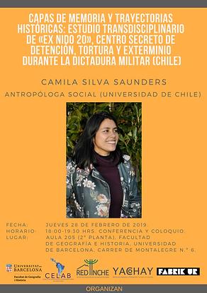 3. 29 febrero 2019, Camila Silva Saunder