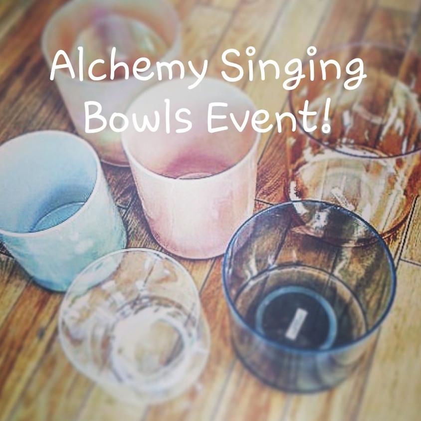 Salt Room Meditation & Alchemy Singing Bowls