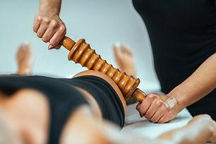 Rolling pin madero therapy massage. Fema