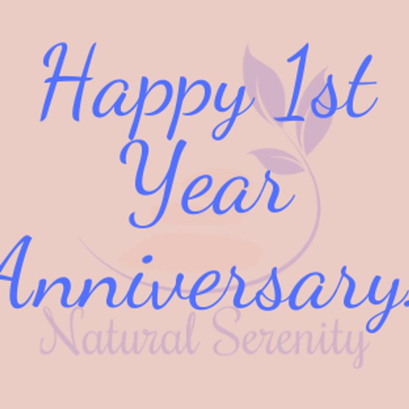 First Year Anniversary!