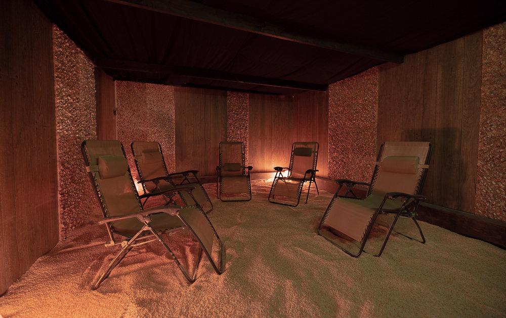 Halotherapy (Salt Room)