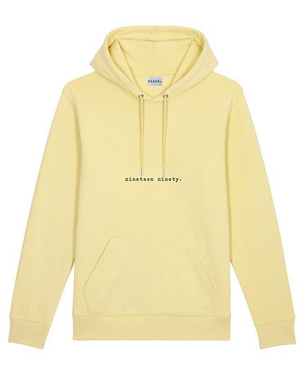 Hoodie Unisexe [jaune]