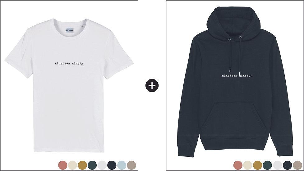 Pack Intemporel TShirt + Hoodie