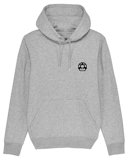 Game Over - Hoodie Gris