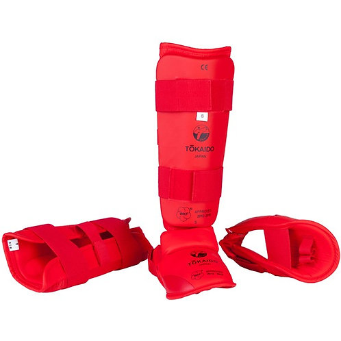 Tokaido Shin and Instep Guards (WKF Approved)