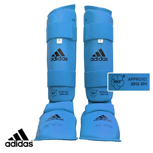 Adidas Shin and Instep Guards (WKF Approved)