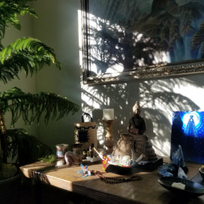 The Importance Daily Meditation & Creating a Sacred Space in Your Home