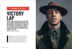 Macklemore. The Source magazine