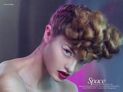 Institute magazine. Beauty makeup.