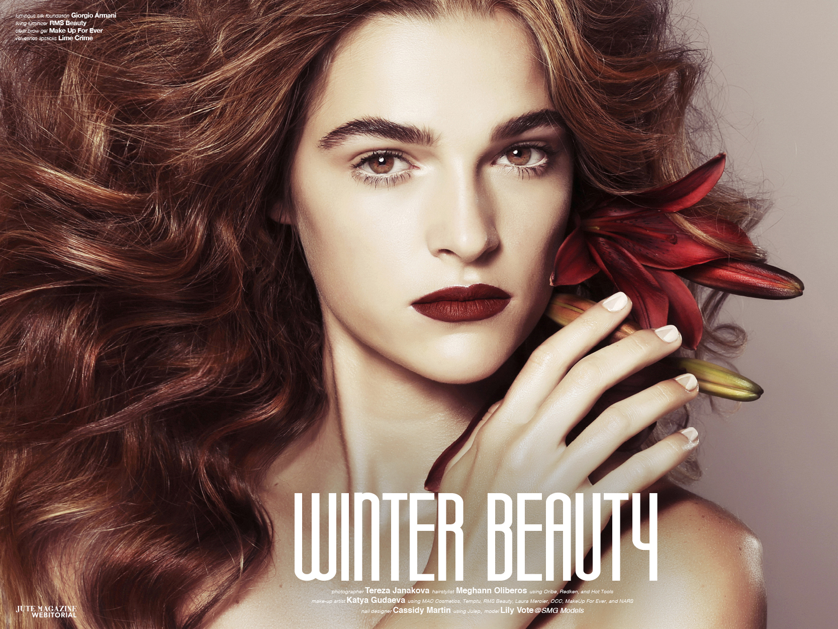 Winter Beauty, Seattle Makeup Artist
