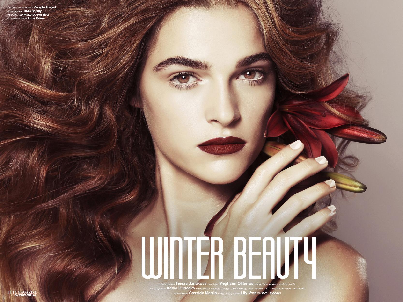 Winter Beauty, Seattle Makeup Artist