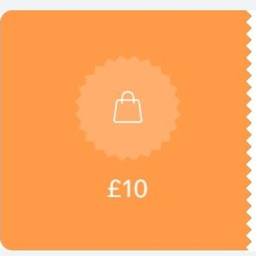 Gift Voucher £10 OFF