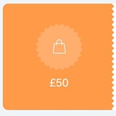 Gift Voucher £50 OFF