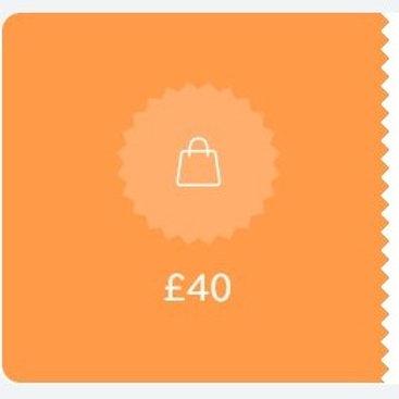 Gift Voucher £40 OFF