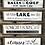 Thumbnail: Barnboard framed Golf & Lake Signs