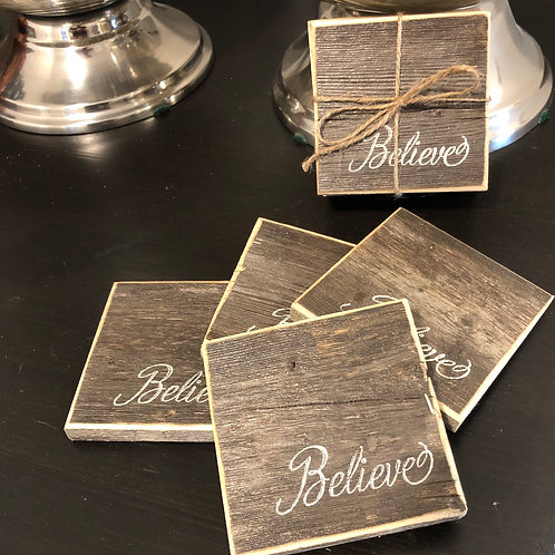 Authentic Barnboard Coasters