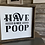 Thumbnail: Bathroom Signs Barnboard Framed