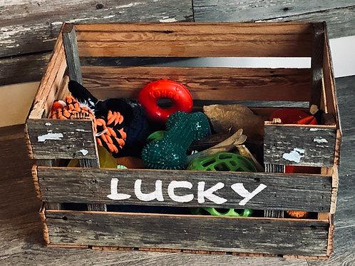 Barn Board Pet Crate