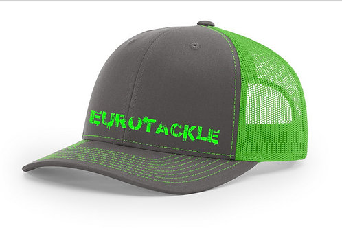 Eurotackle Hat - Green& Grey
