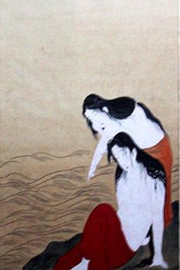 Japanese Wood Block Print