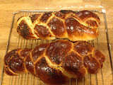 Challah made by a member of the Thailand Progressive Jewish Community