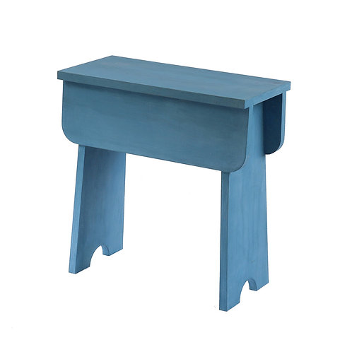Shaker Stool Soldier Blue (plywood)