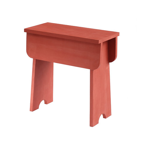 Shaker Stool Old Red (plywood)