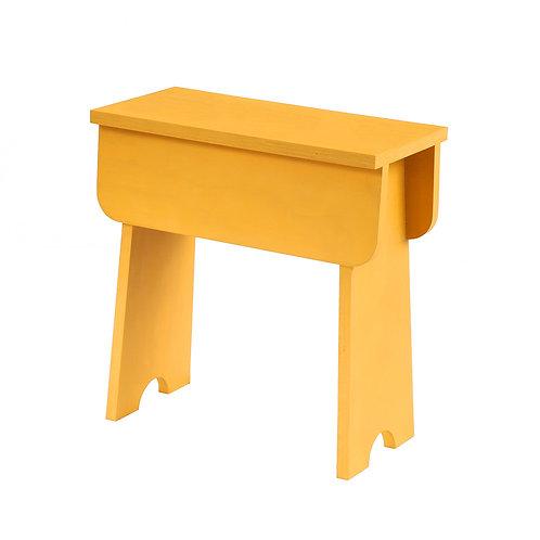 Shaker Stool Gold Yellow (plywood)