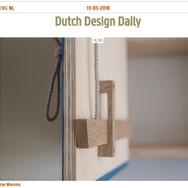Dutch Design Daily (online) - maart 2018