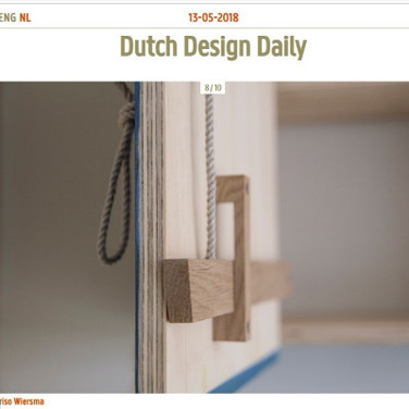 Dutch Design Daily (online) - maart 2018