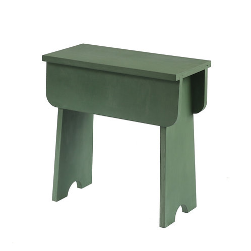 Shaker Stool Soup Green (plywood)