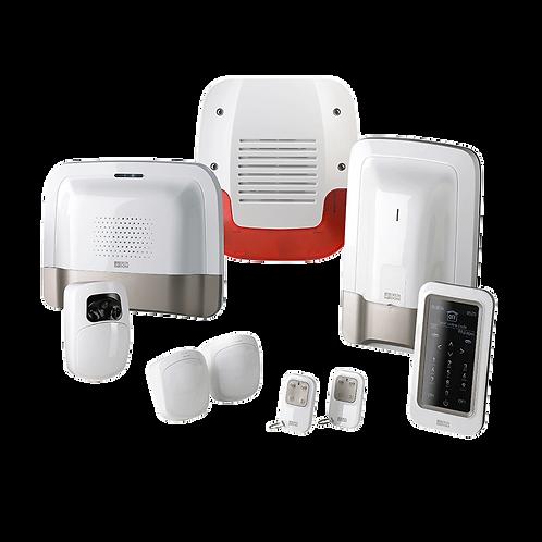 Pack alarme et vidéo sans fil avec suivi sms et détecteur vidéo prêt à l'emploi