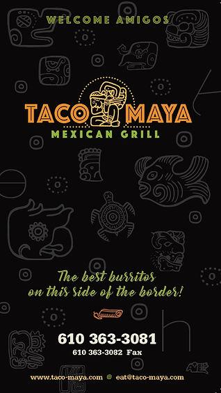 Taco Maya Mexican Restaurant Mexican Food